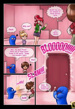 fosters home for imaginary friends hentai comic