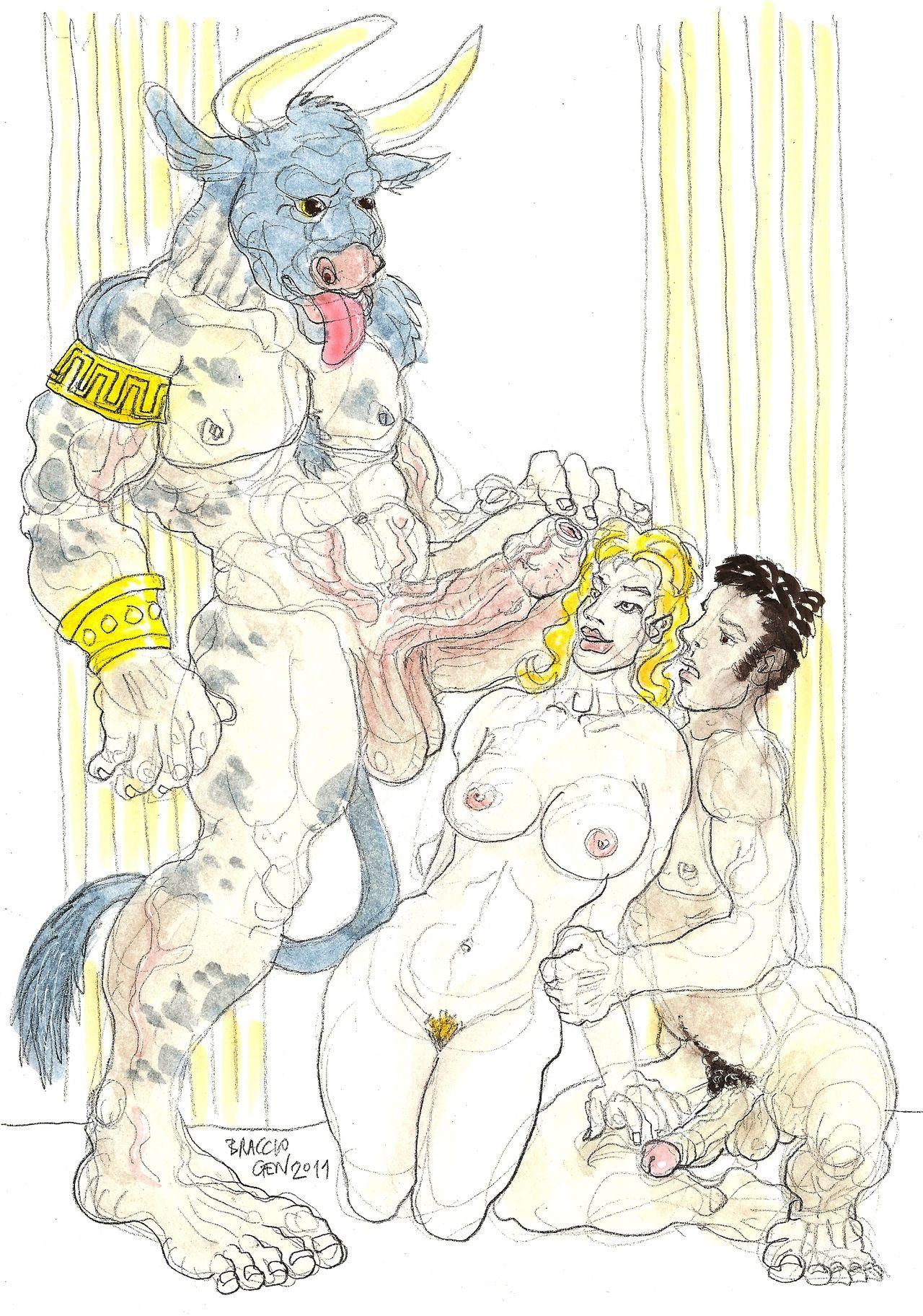 Minotaur elf slave hentai